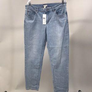 NEW Eileen Fisher Boyfriend Jeans